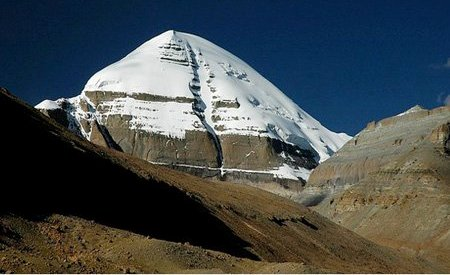 Mt Kailash picture from Hilsa tibet border