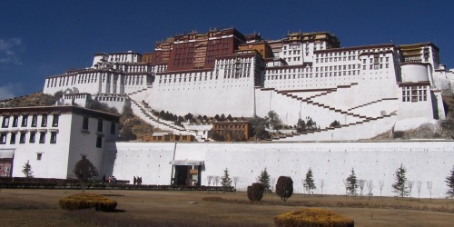 Potala place in Tibet