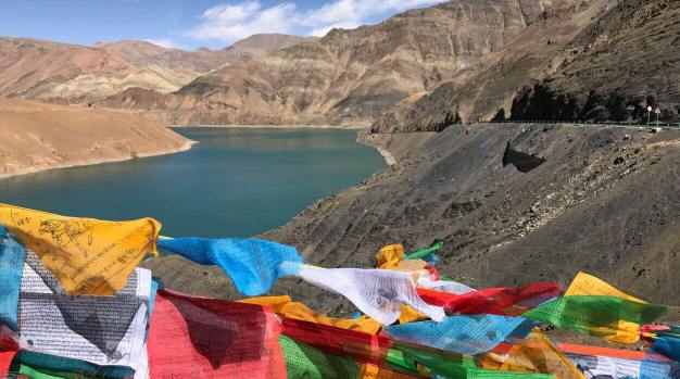 Nateso lake in Tibet